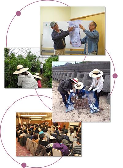 地(知)の拠点大学による地方創生推進事業主要成果指標と実績の概要