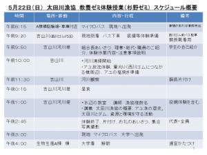 28太田川スケジュール