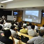 地(知)の拠点 教養ゼミ体験授業発表会を開催しました。連携地域・市町にも参加いただきました。
