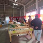 地(知)の拠点整備事業 JA呉直売所開設・運営に向けての調査活動を行いました。