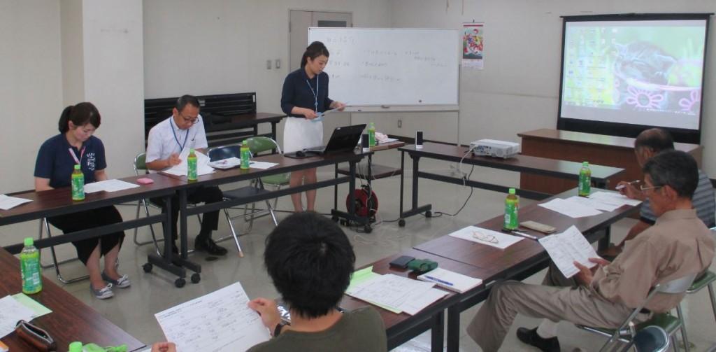 地(知)の拠点大学による地方創生推進事業世羅インターンシップ1