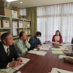 地(知)の拠点整備事業 大崎上島町との地域連携推進の協議を行いました。